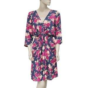 Joe Browns Floral Printed Pocket Boho Dress L
